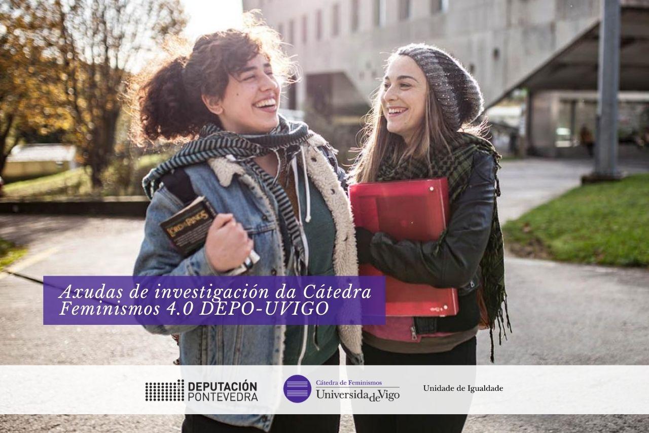 Catedra Feminismos 40 axudas invesgacion 2020