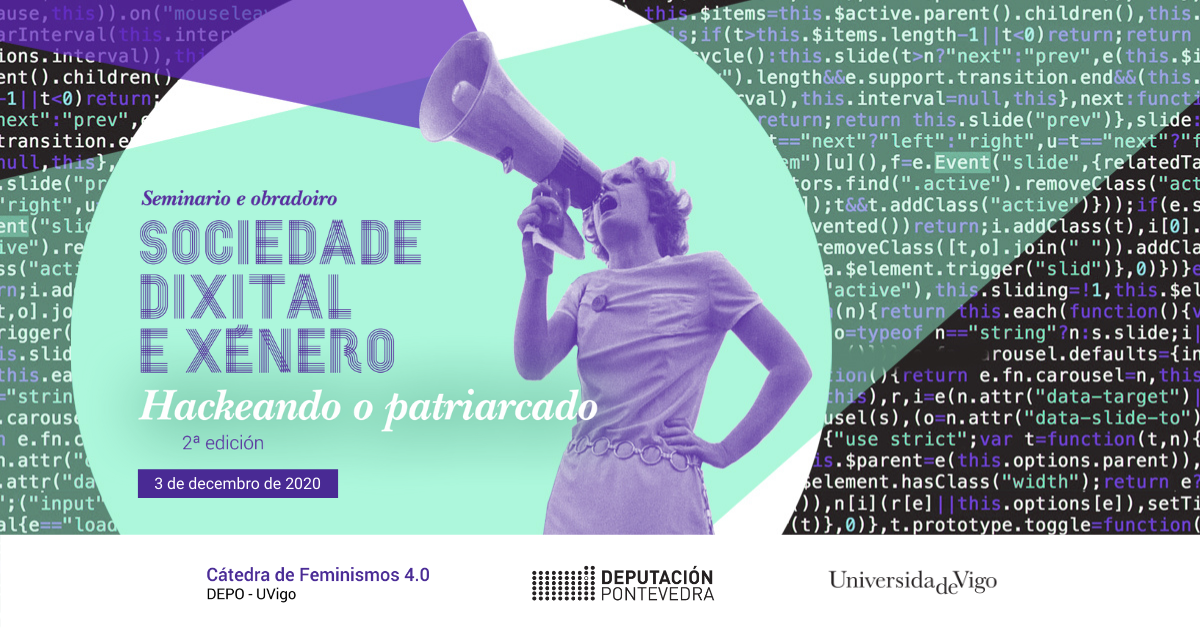 WORKSHOP 2020 Hackeando o patriarcado Catedra Feminismos 40