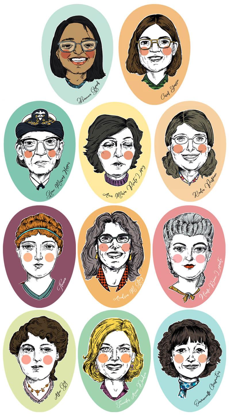 caretas bravxs web Catedra Feminismos 40