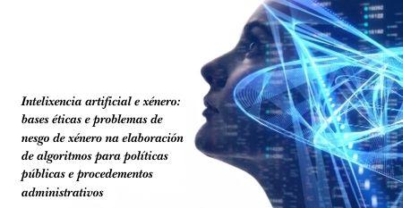 Catedra investigacion 2020 Intelixencia artificial e xenero