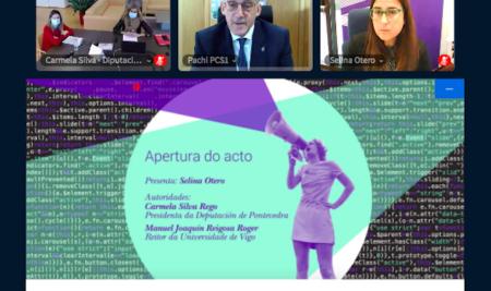 """Carmela Silva: """"Necesitamos medidas para evitar o acoso que sofren nas redes o 60% das mozas"""""""