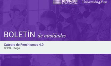 A Cátedra de Feminismos 4.0 estrea o seu boletín trimestral