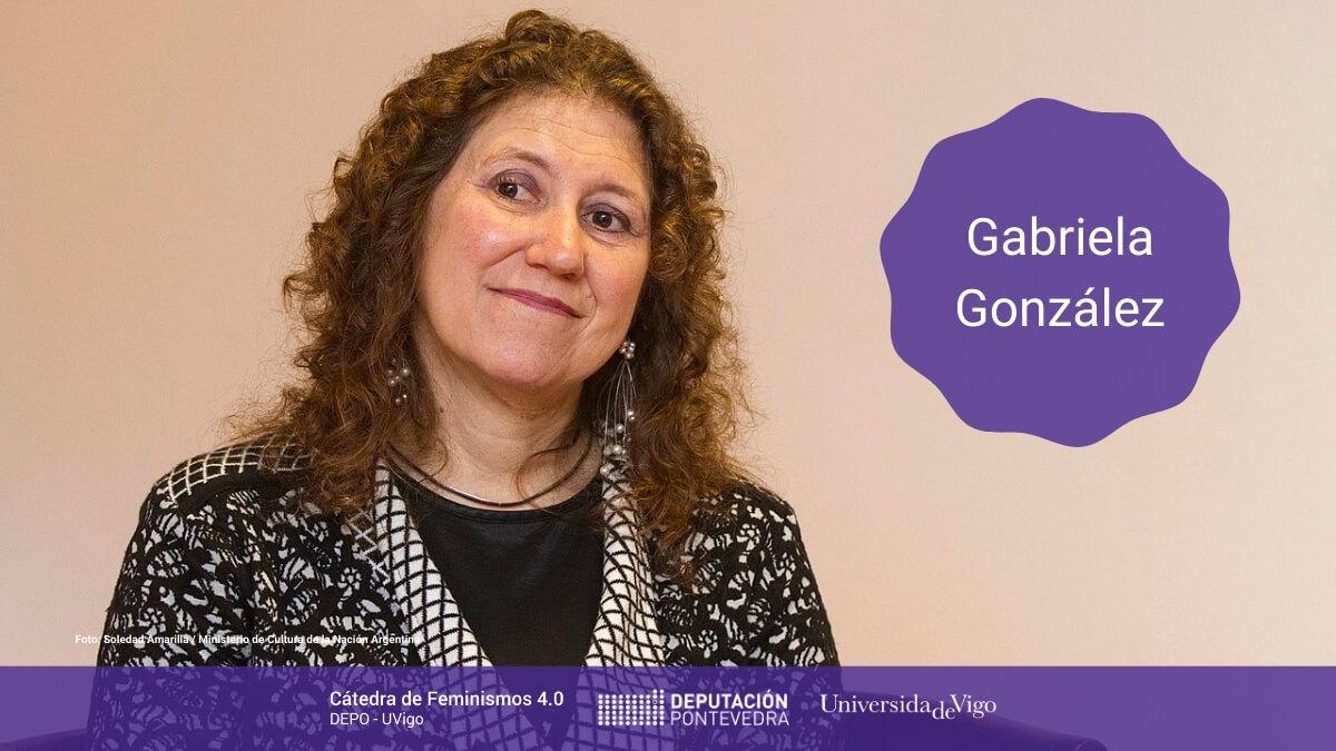 Catedra Feminismos 40 Mulleres Na Ciencia Gabriela Gonzalez