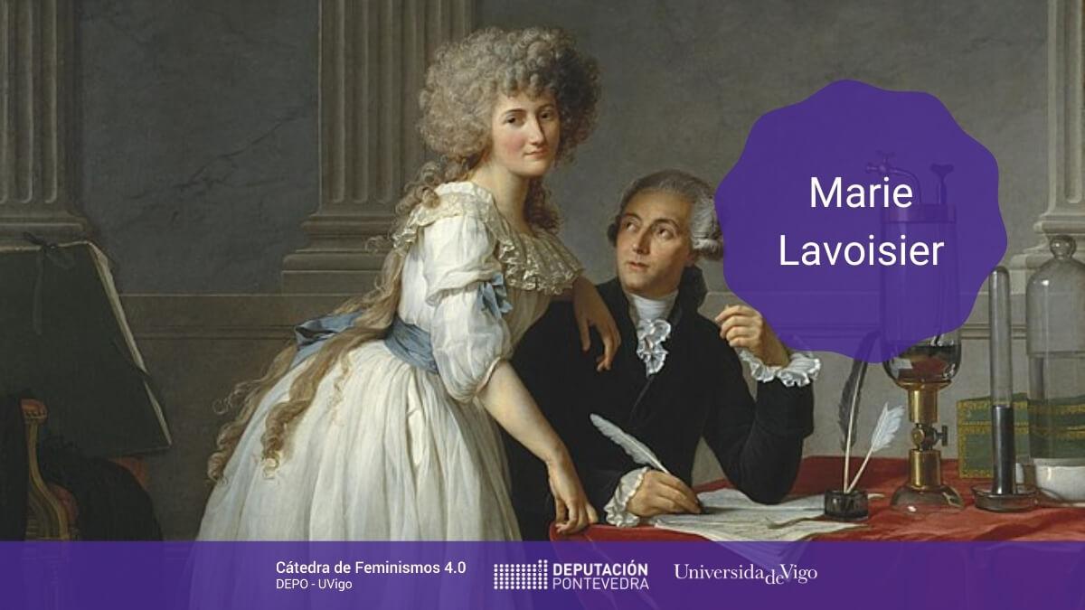 Catedra Feminismos 40 Mulleres Na Ciencia Marie Lavoisier