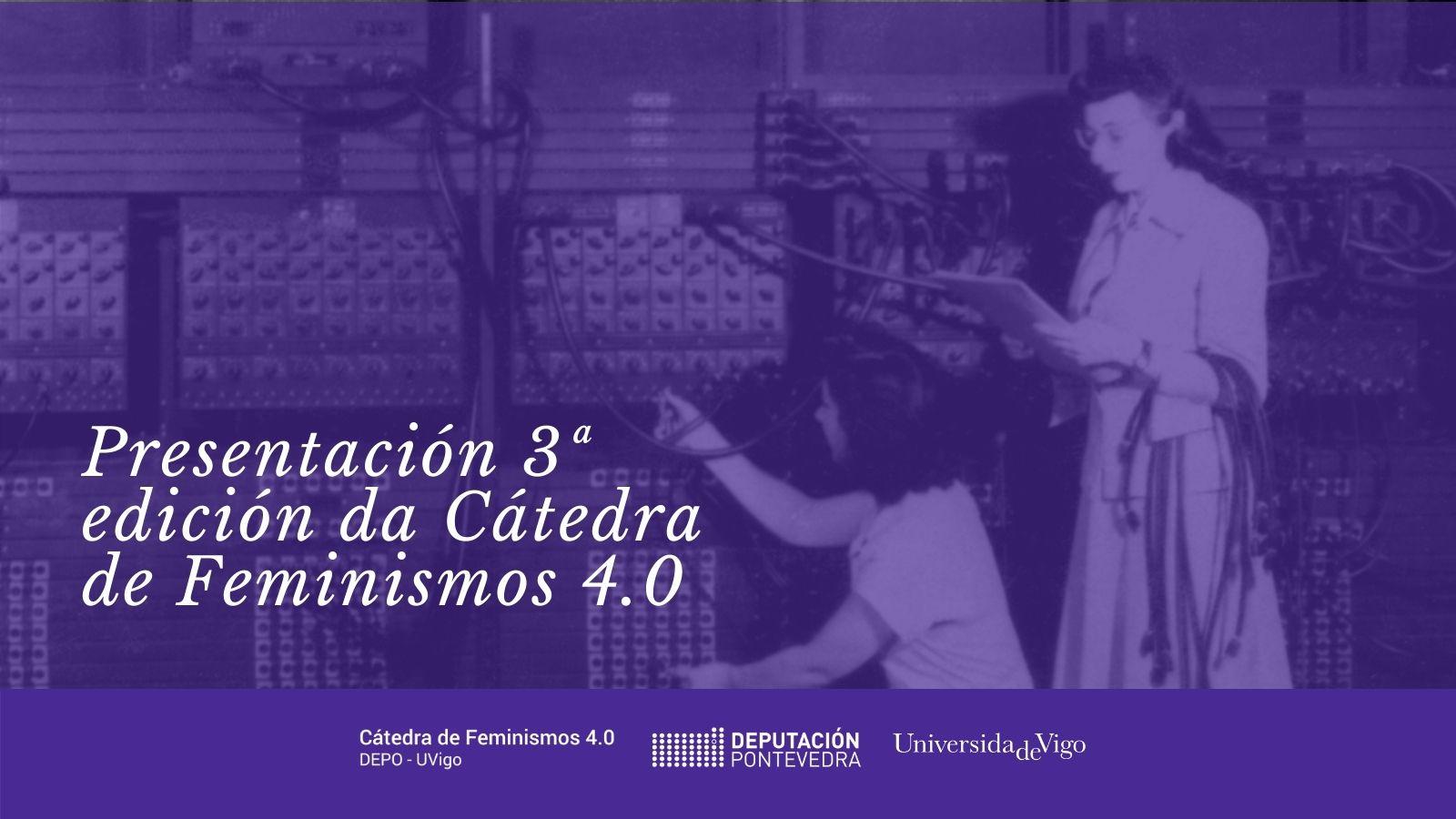 CATEDRA FEMINISMOS 40 - presentacion terceira edicion