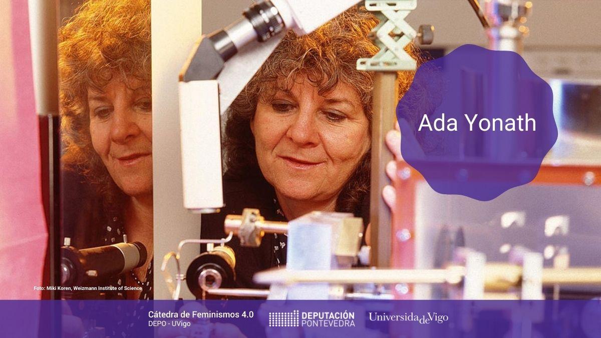 Catedra Feminismos 40 Mulleres Na Ciencia Ada Yonath
