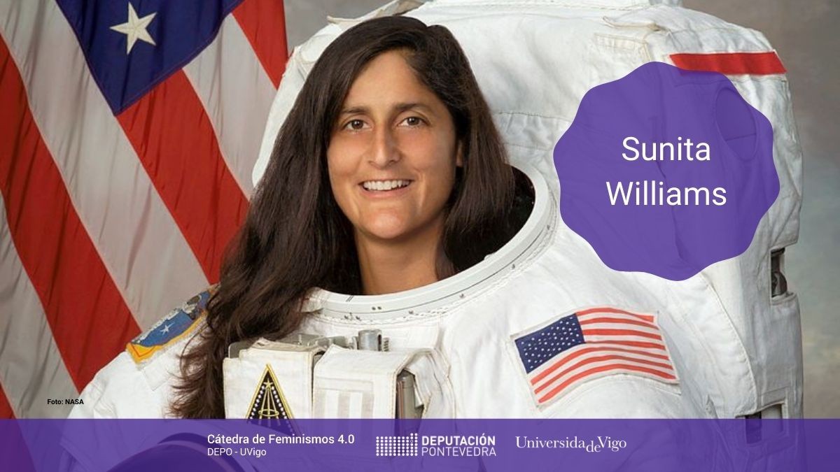 Mulleres Na Ciencia Sunita Williams