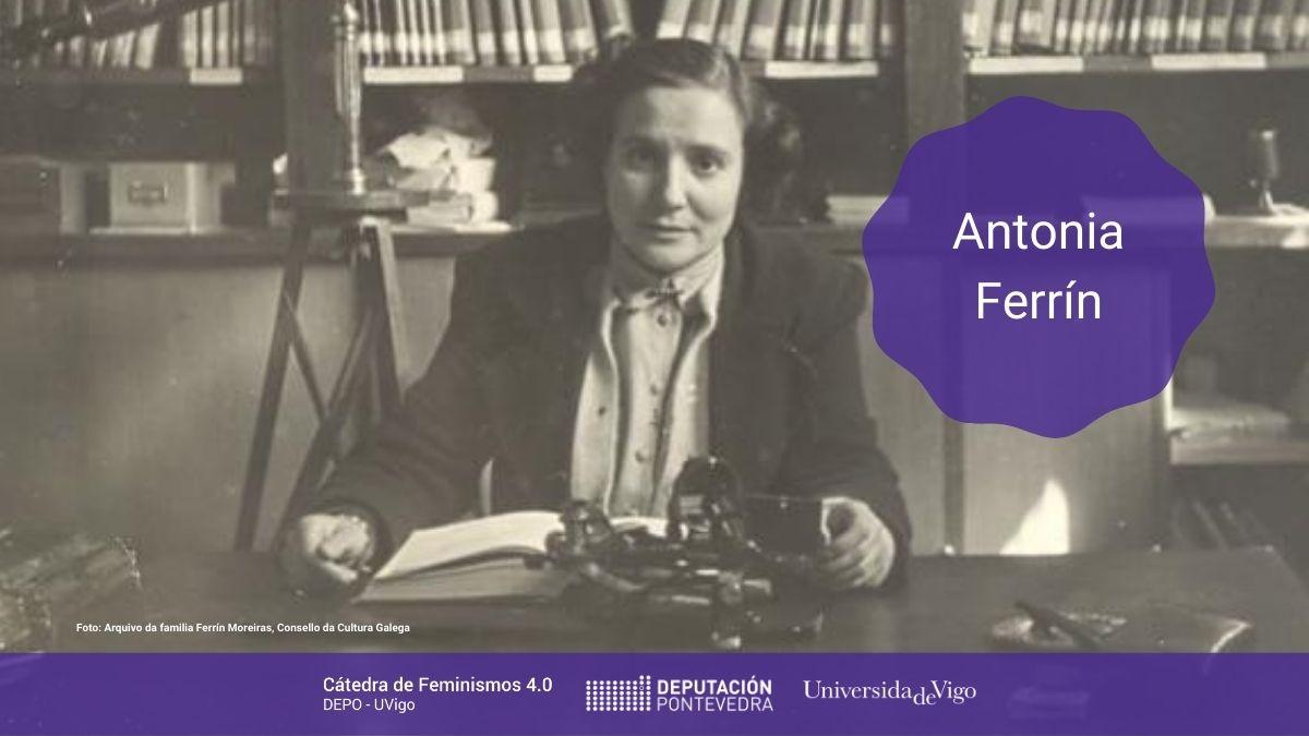 Mulleres Na Ciencia Boletin Catedra Antonia Ferrin