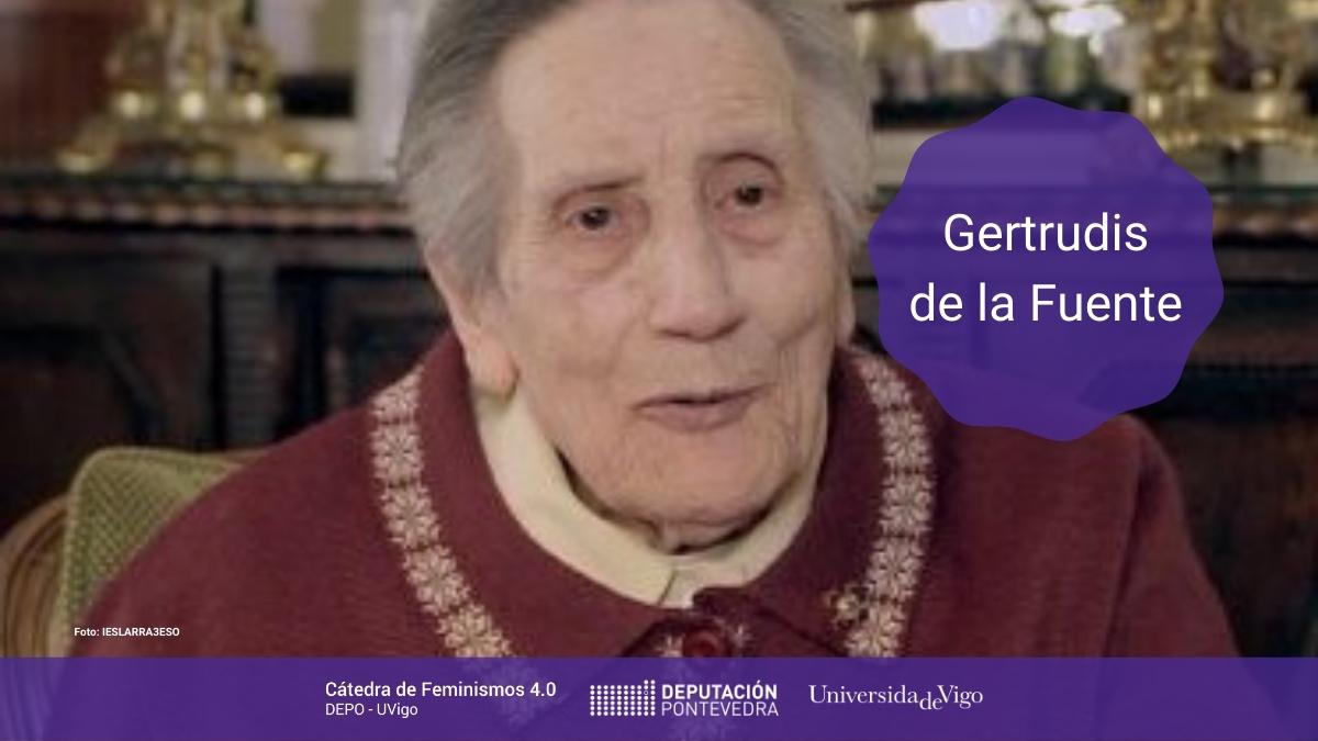 Mulleres Na Ciencia Boletin Catedra Gertrudis de la Fuente